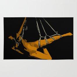 The hanging girl II Rug