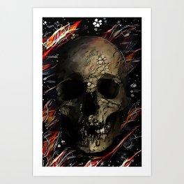 skullstake Art Print