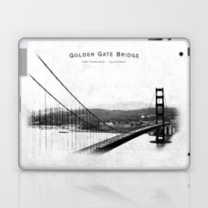 Golden Gate Bridge - San Francisco Laptop & iPad Skin