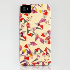 watercolour geometric shapes Slim Case iPhone (4, 4s)