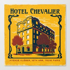 HOTEL CHEVALIER Canvas Print