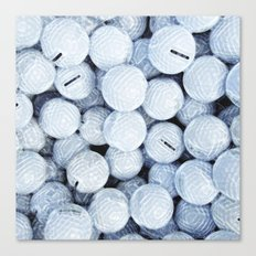 Golf Lovers... practice makes perfect Canvas Print