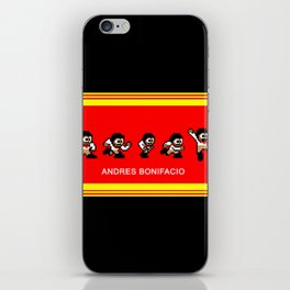 8-bit Andres 5 pose v2 iPhone Skin