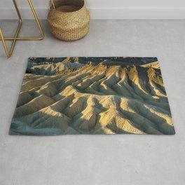 Death Valley - Zabriskie Point Rug
