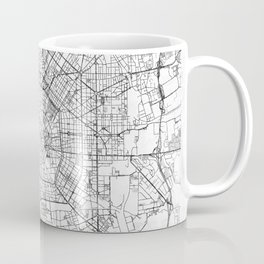 Milan Map Line Coffee Mug