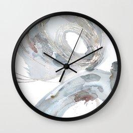 Rabbit Hole | Original Artwork based on Alice in Wonderland By Kristen Baker  Wall Clock
