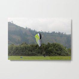 Coming Down to Earth Metal Print