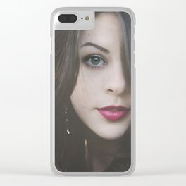 She Clear iPhone Case