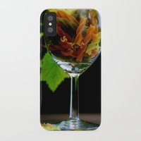 pasta iPhone & iPod Cases featuring Tricolor Pasta by Tanja Riedel
