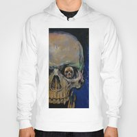 vampire diaries Hoodies featuring Vampire by Michael Creese