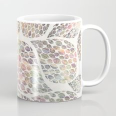 Soft Color Abstract Leaf Scatter Coffee Mug