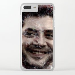 JAVIER BARDEM Clear iPhone Case