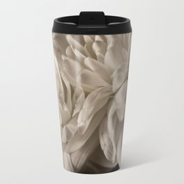 Delicate White Travel Mug