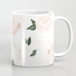 vintage blush floral Coffee Mug
