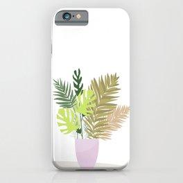 Tropical bouquet. iPhone Case