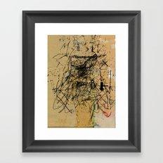 dithering 41 Framed Art Print
