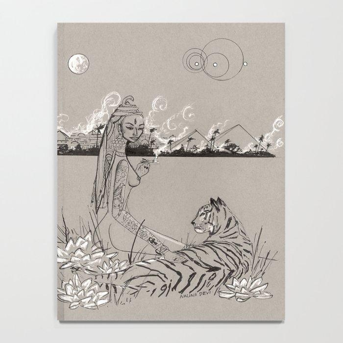 Egyptian Goddess Past Life Notebook