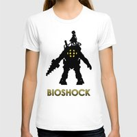 bioshock infinite T-shirts featuring Bioshock by Pixel Design