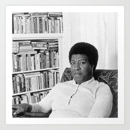 Octavia Butler - Black Culture - Black History Art Print