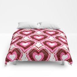 Girl Crush - Happy Valentines Day Comforters