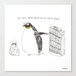 penguin classics Canvas Print