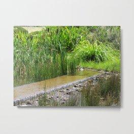 Water Feature Metal Print