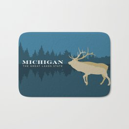 Michigan - Redesigning The States Series Bath Mat