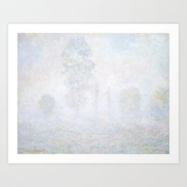 Morning Haze by Claude Monet Art Print
