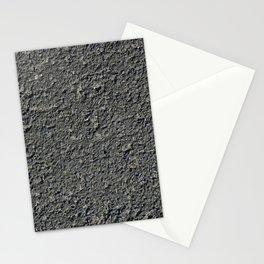 Texture #2 Asphalt Stationery Cards