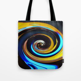 Swirling colors 03 (Swirl) Tote Bag