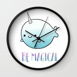 Be Magical Wall Clock