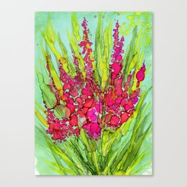 Pink Bouquet By Pam Hayes- Canvas Print