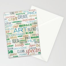pattern series 019 - think design Stationery Cards