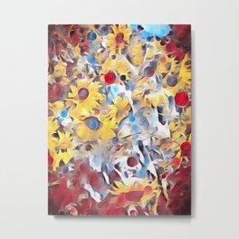 Sun flower fields (2016) Metal Print