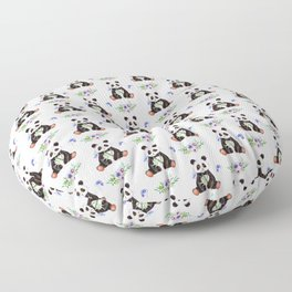 Garden Panda Pattern Floor Pillow