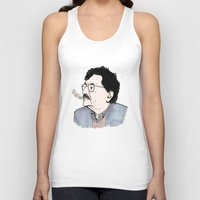 kurt rahn Tank Tops featuring Kurt by JT Illustrates