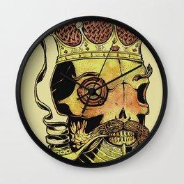 Caveira Rei dos Mares Wall Clock