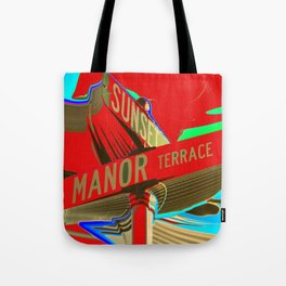 Sunset Manor Tote Bag