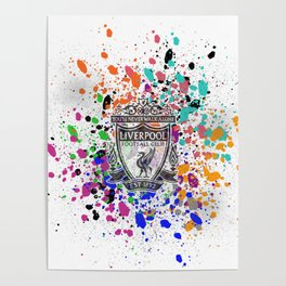 Liverpool Watercolor Poster