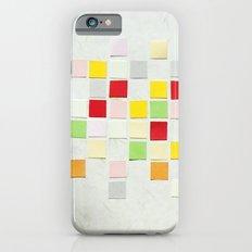 Colour Blocks Papercut iPhone 6s Slim Case