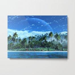 Atoll Metal Print