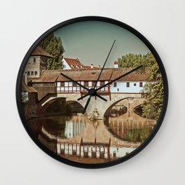 Romantic Nuremberg Wall Clock