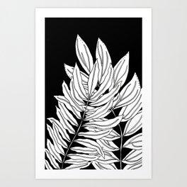 Leafy Greens Art Print