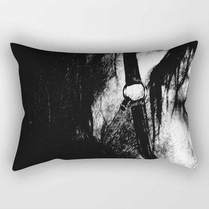 A look a trotter Rectangular Pillow