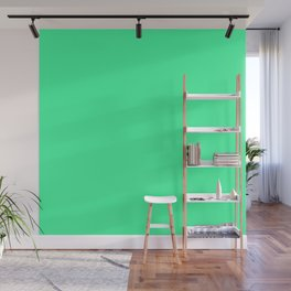 Minimalism Simple Mint Green Solid Colour Decor Wall Mural