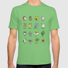 Hotline Kawaii LARGE Mens Fitted Tee Grass