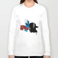 rap Long Sleeve T-shirts featuring Rap by David Navascues