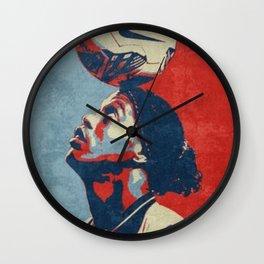 Ronaldinho pop art Wall Clock