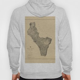 Map of West Point 1883 Hoody