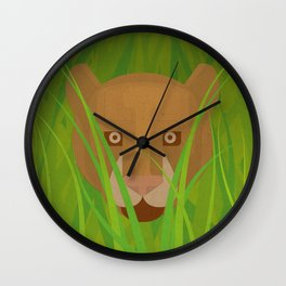 The Paper Forest #1 Wall Clock